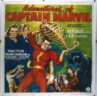 037 ADVENTURES OF CAPTAIN MARVEL linen 6sh