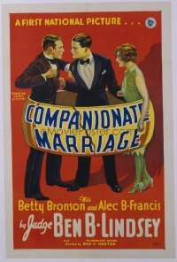 140 COMPANIONATE MARRIAGE linen 1sheet