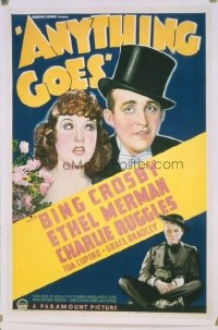 133 ANYTHING GOES ('36) linen 1sheet