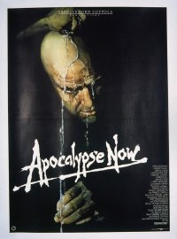 VHP7 560 APOCALYPSE NOW German movie poster '79 Brando, Bob Peak art!