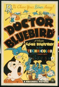 092 DOCTOR BLUEBIRD linen 1sheet