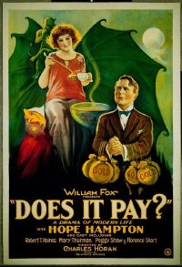 079 DOES IT PAY linen 1sheet