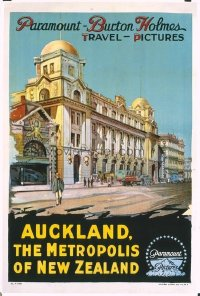 264 AUCKLAND, THE METROPOLIS OF NEW ZEALAND linen 1sheet