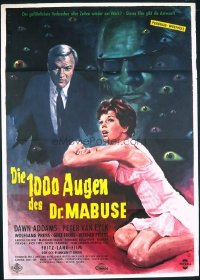 #132 1000 EYES OF DR MABUSE German '66 Lang