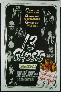 140 13 GHOSTS ('60) 1sheet