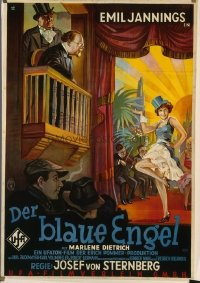 369 BLUE ANGEL ('30) paperbacked German