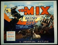 v346 DESTRY RIDES AGAIN ('32)  1/2sh '32 Tom Mix rides Tony!