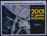 006 2001: A SPACE ODYSSEY British quad