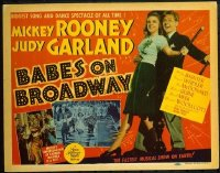 v413 BABES ON BROADWAY  TC '41 Rooney, Judy Garland