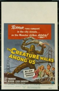 #185 CREATURE WALKS AMONG US WC 1956 Morrow