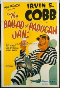 367 BALLAD OF PADUCAH JAIL 1sheet