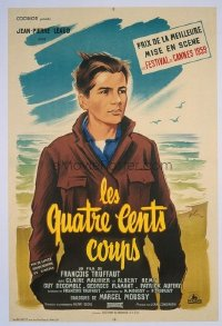 #143 400 BLOWS small French 1959 Truffaut