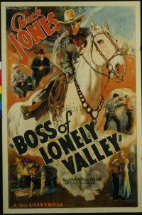 075 BOSS OF LONELY VALLEY 1sheet