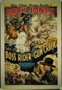 070 BOSS RIDER OF GUN CREEK linen 1sheet