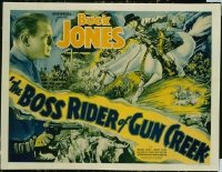 167 BOSS RIDER OF GUN CREEK 1/2sh