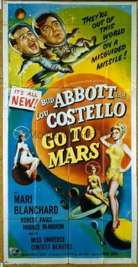 296 ABBOTT & COSTELLO GO TO MARS 3sh