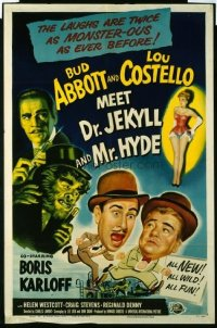 284 ABBOTT & COSTELLO MEET DR. JEKYLL & MR. HYDE 1sheet