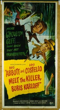 295 ABBOTT & COSTELLO MEET THE KILLER BORIS KARLOFF 3sh