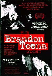 VHP7 589 BRANDON TEENA STORY arthouse one-sheet movie poster '98 Boys Don't Cry!