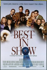 4613 BEST IN SHOW DS one-sheet movie poster '00 Parker Posey, Brazeau