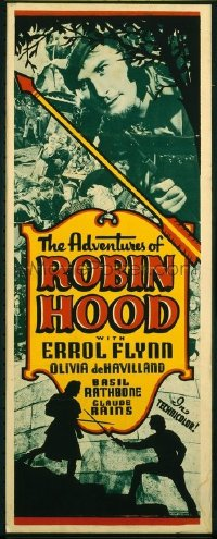 v409 ADVENTURES OF ROBIN HOOD  insert '38 Errol Flynn