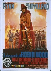 094 ADVENTURES OF ROBIN HOOD R53, linen Italian