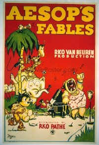 010 AESOP'S FABLES linen 1sheet