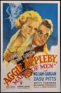 089 AGGIE APPLEBY MAKER OF MEN paperbacked 1sheet