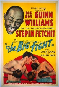219 BIG FIGHT ('30) linen 1sheet