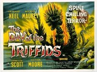 v117 DAY OF THE TRIFFIDS  British quad '62 great image!
