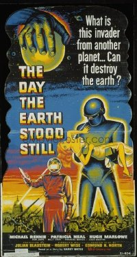 191 DAY THE EARTH STOOD STILL ('51) lobby standee