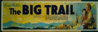 001 BIG TRAIL cloth banner