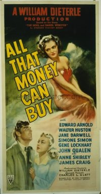 098 ALL THAT MONEY CAN BUY linen 3sh