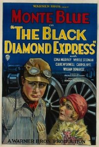 116 BLACK DIAMOND EXPRESS paperbacked 1sheet