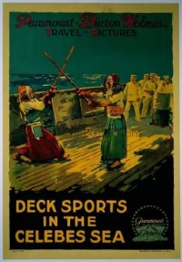 265 DECK SPORTS IN THE CELEBES SEA linen 1sheet