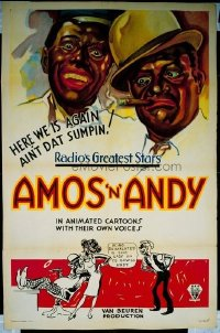 119 AMOS N ANDY CARTOONS 1sheet