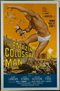 069 AMAZING COLOSSAL MAN 1sheet