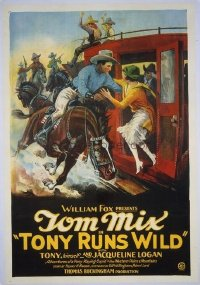 203 TONY RUNS WILD linen 1sheet
