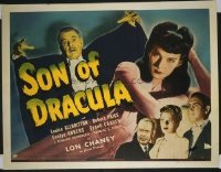 205 SON OF DRACULA ('43) paperbacked 1/2sh