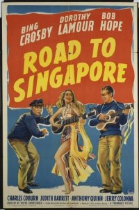 118 ROAD TO SINGAPORE ('40) 1sheet