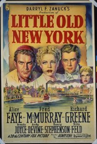 028 LITTLE OLD NEW YORK ('40) linen 1sheet