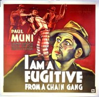 098 I AM A FUGITIVE FROM A CHAIN GANG linen 6sh