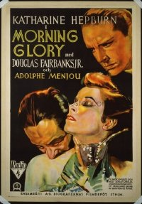 259 MORNING GLORY ('33) linen 1sheet