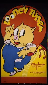 684 LOONEY TUNES paperbacked standee