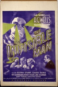 081 INVISIBLE MAN ('33) WC