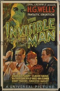 206 INVISIBLE MAN ('33) 1sheet