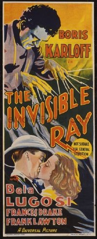 153 INVISIBLE RAY Aust daybill