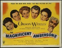 #097 MAGNIFICENT AMBERSONS style B 1/2sheet42