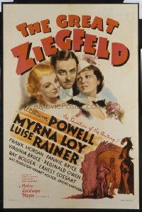045 GREAT ZIEGFELD 1sheet