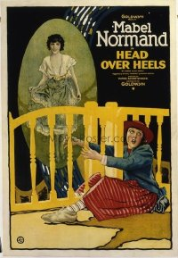 411 HEAD OVER HEELS ('22) linen 1sheet